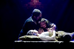 Jairus, Daughter and Wife Daughter dying
