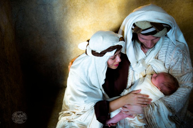Mary, Joseph, Baby